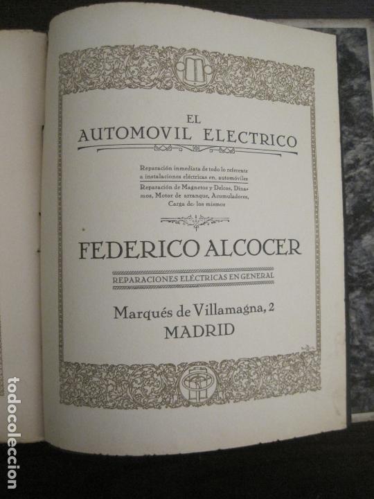 Coches y Motocicletas: ALBUM DE ORO-EXPOSICION OFICIAL DEL AUTOMOVIL MADRID 1926-PUBLICIDAD COCHES-VER FOTOS-(V-17.031) - Foto 69 - 165085594