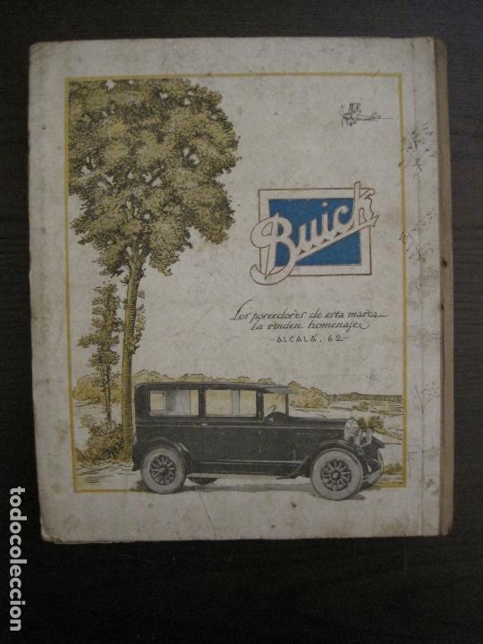 Coches y Motocicletas: ALBUM DE ORO-EXPOSICION OFICIAL DEL AUTOMOVIL MADRID 1926-PUBLICIDAD COCHES-VER FOTOS-(V-17.031) - Foto 72 - 165085594