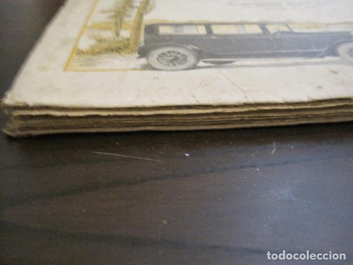Coches y Motocicletas: ALBUM DE ORO-EXPOSICION OFICIAL DEL AUTOMOVIL MADRID 1926-PUBLICIDAD COCHES-VER FOTOS-(V-17.031) - Foto 73 - 165085594