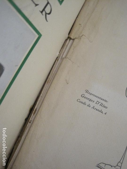 Coches y Motocicletas: ALBUM DE ORO-EXPOSICION OFICIAL DEL AUTOMOVIL MADRID 1926-PUBLICIDAD COCHES-VER FOTOS-(V-17.031) - Foto 80 - 165085594