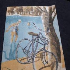 Coches y Motocicletas: CATALOGO DE 1943 DE BICICLETAS BH SUPER BEISTEGUI HERMANOS S.A. EIBAR. Lote 165092826