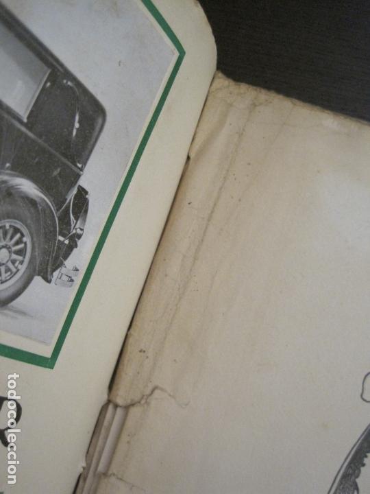 Coches y Motocicletas: ALBUM DE ORO-EXPOSICION OFICIAL DEL AUTOMOVIL MADRID 1926-PUBLICIDAD COCHES-VER FOTOS-(V-17.031) - Foto 81 - 165085594