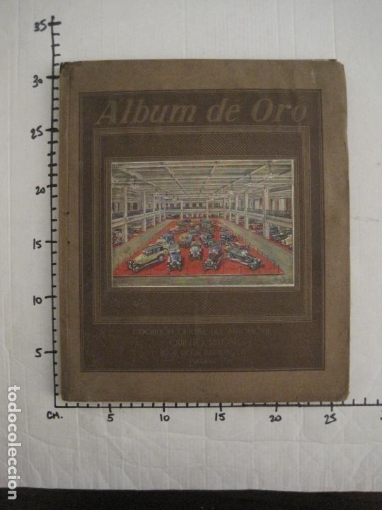 Coches y Motocicletas: ALBUM DE ORO-EXPOSICION OFICIAL DEL AUTOMOVIL MADRID 1926-PUBLICIDAD COCHES-VER FOTOS-(V-17.031) - Foto 82 - 165085594