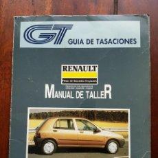 Coches y Motocicletas: MANUAL DE TALLER RENAULT CLIO (ENERO 1992 TOMO I). Lote 165124858