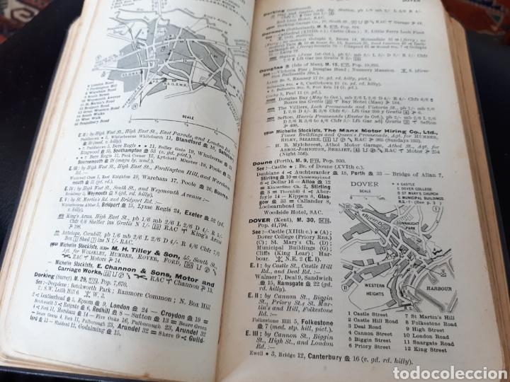Coches y Motocicletas: Guia Michelin año 1911 British Isles - Foto 6 - 165204102