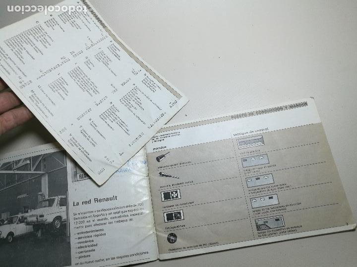 Coches y Motocicletas: manual conduccion y entretenimiento renault 4 y renault 4 tl ----5ª edicion española 1978 - Foto 8 - 165363534