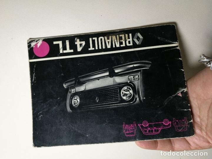Coches y Motocicletas: manual conduccion y entretenimiento renault 4 y renault 4 tl ----5ª edicion española 1978 - Foto 2 - 165363534