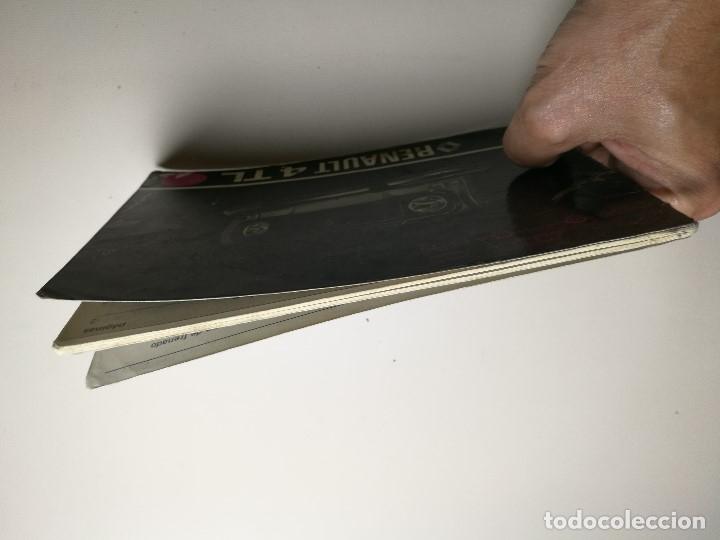 Coches y Motocicletas: manual conduccion y entretenimiento renault 4 y renault 4 tl ----5ª edicion española 1978 - Foto 3 - 165363534