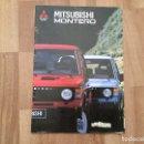 Coches y Motocicletas: MITSUBISHI MONTERO - CATALOGO PUBLICIDAD ORIGINAL - AÑO 1989. Lote 165365490