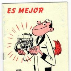 Coches y Motocicletas: EBRO - ES MEJOR PREVENIR... / MOTOR IBÉRICA S.A. - DEPARTAMENTO DE ASISTENCIA TÉCNICA 1970. Lote 165432098