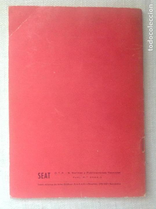 Coches y Motocicletas: Manual SEAT 600 - Foto 6 - 165765966