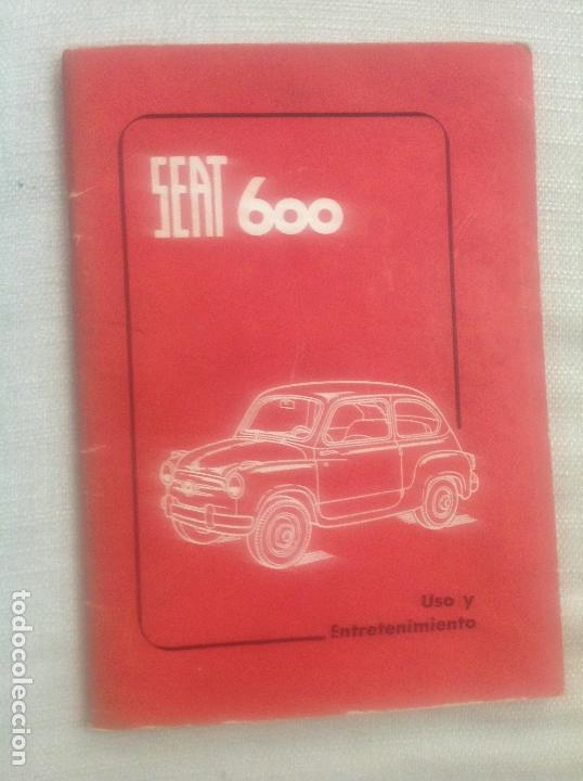 MANUAL SEAT 600 (Coches y Motocicletas Antiguas y Clásicas - Catálogos, Publicidad y Libros de mecánica)