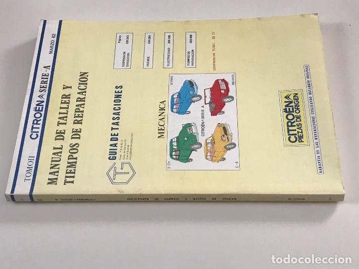 Citroen Seria A 2 Cv Dyane C8 Mehari - Libro Ta