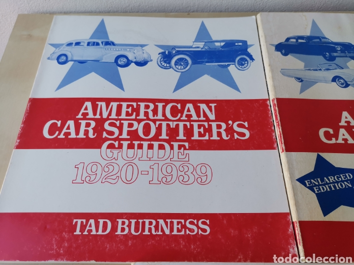 Coches y Motocicletas: AMERICAN CAR SPOTTERS GUIDE 1920-1980 3 volúmenes - Foto 2 - 166698202