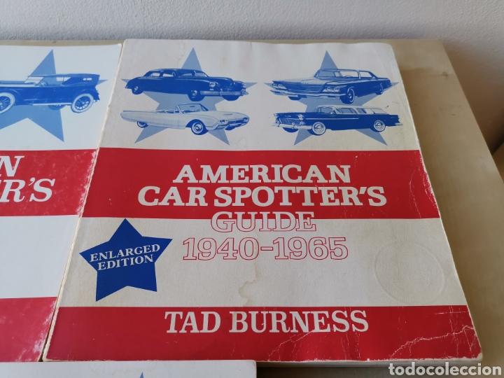 Coches y Motocicletas: AMERICAN CAR SPOTTERS GUIDE 1920-1980 3 volúmenes - Foto 3 - 166698202