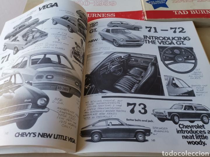 Coches y Motocicletas: AMERICAN CAR SPOTTERS GUIDE 1920-1980 3 volúmenes - Foto 5 - 166698202
