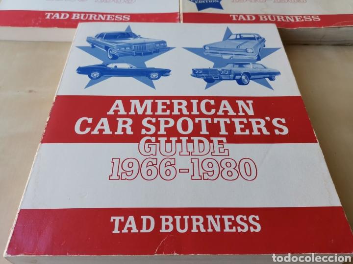 Coches y Motocicletas: AMERICAN CAR SPOTTERS GUIDE 1920-1980 3 volúmenes - Foto 4 - 166698202