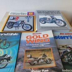 Coches y Motocicletas: LOTE LIBROS DE MOTOCICLETAS. Lote 166700880