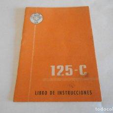 Coches y Motocicletas: OSSA 125 C LIBRO DE INSTRUCCIONES PRIMERA EDICION 1960. Lote 166910148