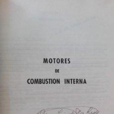 Coches y Motocicletas: MOTORES DE COMBUSTION INTERNA. Lote 166999428