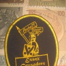 Coches y Motocicletas: PARCHE ESSEX CRUSADERS CONCENTRACION ENGLAND HARLEY INDIAN TRIUMPH HONDA BSA HONDA YAMAHA. Lote 167068056