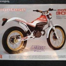 Coches y Motocicletas: FOLLETO MONTESA COTA, IMPALA, ENDURO 360.. Lote 167125230
