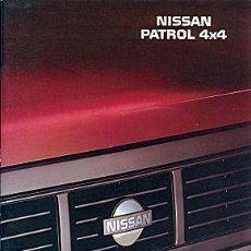 Coches y Motocicletas: NISSAN PATROL 4X4 CATALOGO . Lote 167493112