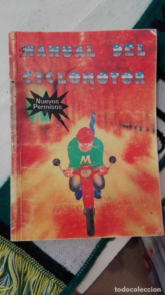 MANUAL DEL CONDUCTOR DE CICLOMOTOR (Coches y Motocicletas Antiguas y Clásicas - Catálogos, Publicidad y Libros de mecánica)