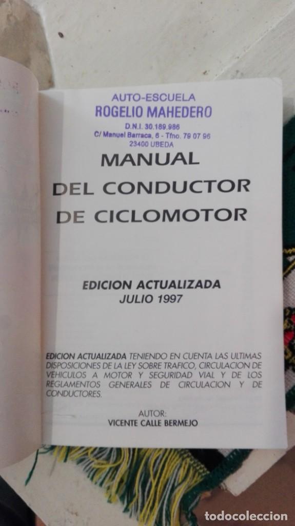 Coches y Motocicletas: manual del conductor de ciclomotor - Foto 2 - 167502312