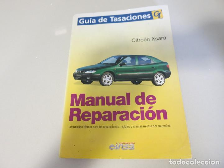 Manual Taller Gu U00eda Tasaciones Citroen Xsara Re