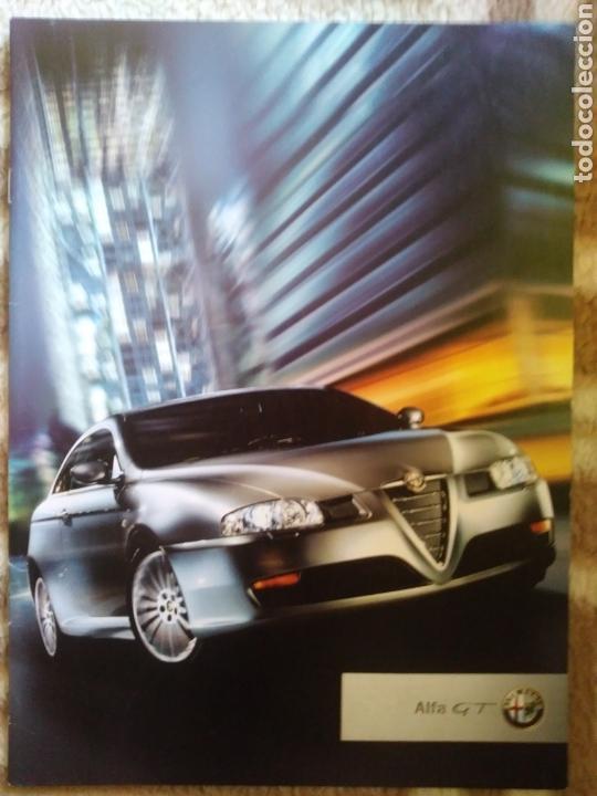 CATÁLOGO ALFA ROMEO GT (Coches y Motocicletas Antiguas y Clásicas - Catálogos, Publicidad y Libros de mecánica)