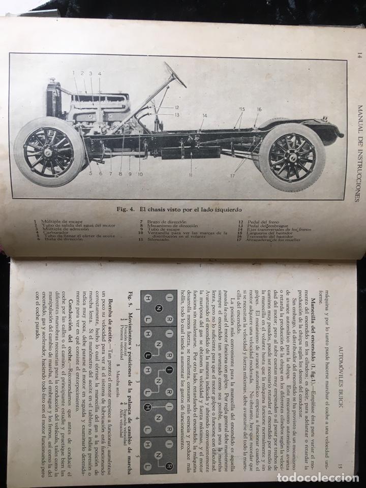 MANUAL INSTRUCCIONES BUICK - ILUSTRADO - 198 PÁGINAS (Coches y Motocicletas Antiguas y Clásicas - Catálogos, Publicidad y Libros de mecánica)