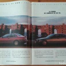 Coches y Motocicletas: PUBLICIDAD BMW SERIE 3. Lote 168604764
