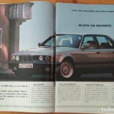 Coches y Motocicletas: PUBLICIDAD BMW SERIE 7. Lote 168608100