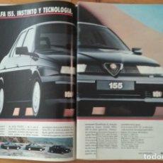 Coches y Motocicletas: PUBLICIDAD ALFA ROMEO 155. Lote 168608328