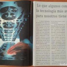 Coches y Motocicletas: PUBLICIDAD MERCEDES BENZ TECNOLOGIA. Lote 168610932