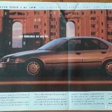 Coches y Motocicletas: PUBLICIDAD BMW SERIE 3 XL. Lote 168611896