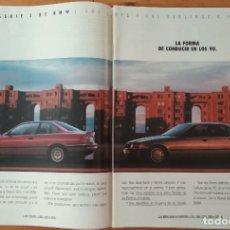 Coches y Motocicletas: PUBLICIDAD BMW SERIE 3. Lote 168612776