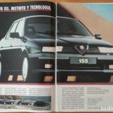 Coches y Motocicletas: PUBLICIDAD ALFA ROMEO 155. Lote 168612940