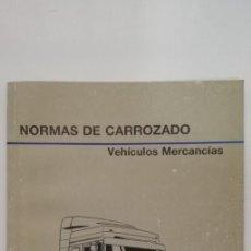 Coches y Motocicletas: PEGASO NORMAS DE CARROZADO VEHICULOS MERCANCIAS TAPA COLOR GRIS (ZCETA). Lote 169113732