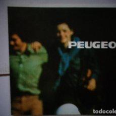 Coches y Motocicletas: CATALOGO TECNICO PUBLICITARIO ORIGINAL CICLOMOTOR PEUGEOT 1976. Lote 169712960