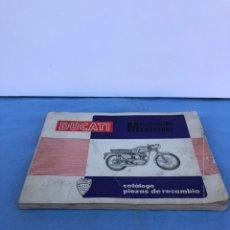 Coches y Motocicletas: CATÁLOGO MOTO DUCATI. Lote 169974706