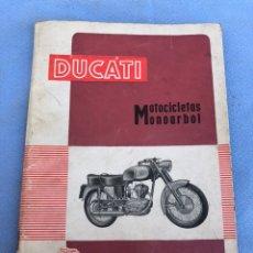 Coches y Motocicletas: CATÁLOGO MOTO DUCATI. Lote 169974978