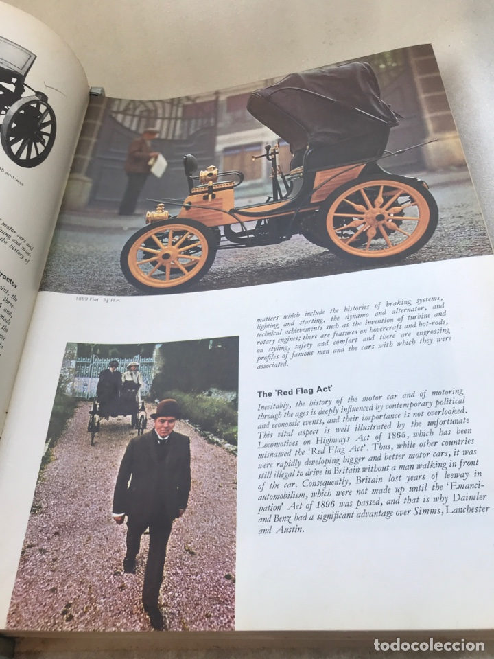Coches y Motocicletas: HISTORY OF THE MOTOR CAR. Inglés. - Foto 3 - 169986054