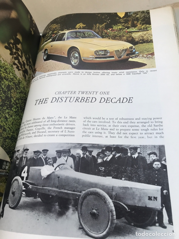 Coches y Motocicletas: HISTORY OF THE MOTOR CAR. Inglés. - Foto 12 - 169986054