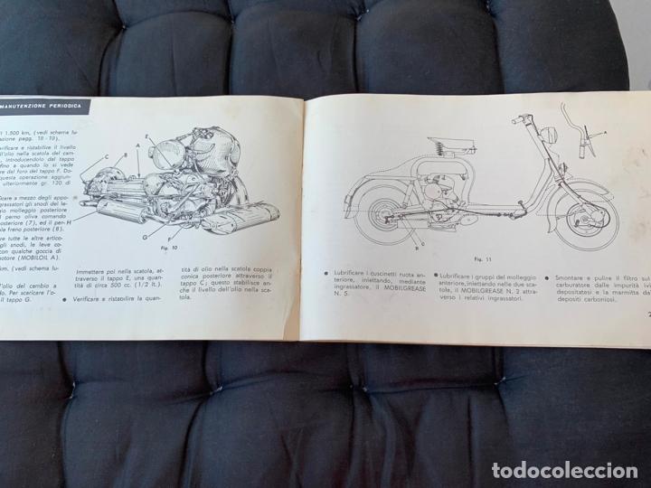Coches y Motocicletas: LAMBRETTA 150 D LAMBRETTA 150 DL INNOCENTI MANUAL DE USO Y MANTENIMIENTO 1955 ORIGINAL - Foto 5 - 170351188
