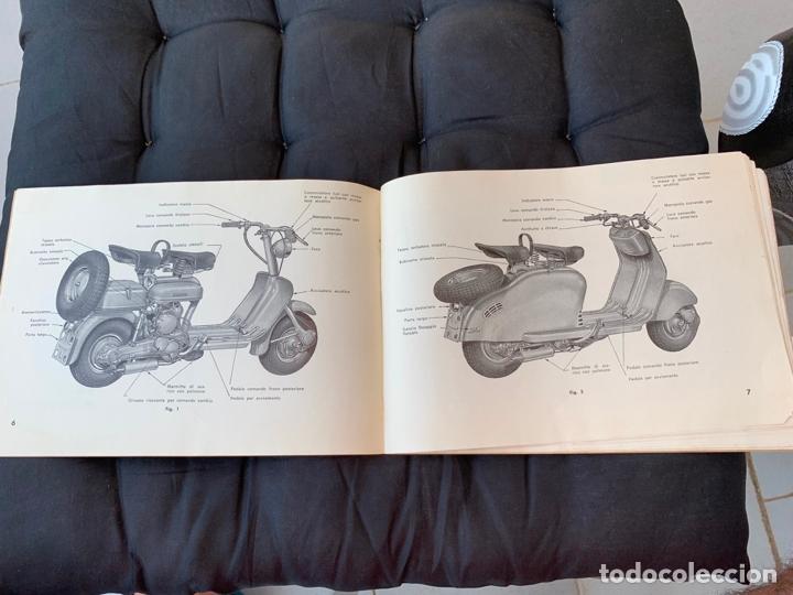 Coches y Motocicletas: LAMBRETTA 150 D LAMBRETTA 150 DL INNOCENTI MANUAL DE USO Y MANTENIMIENTO 1955 ORIGINAL - Foto 7 - 170351188