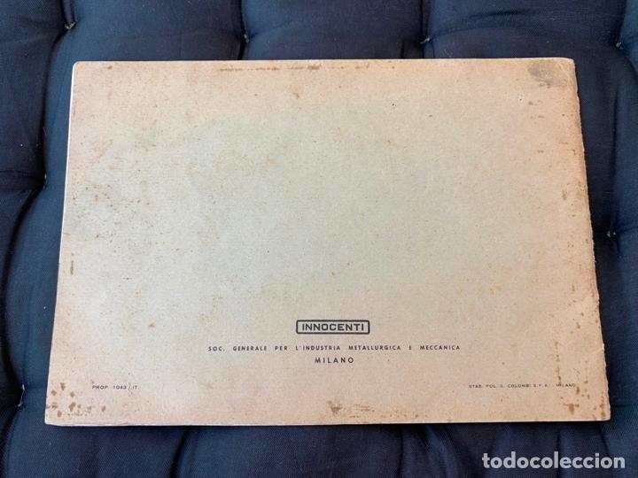 Coches y Motocicletas: LAMBRETTA 150 D LAMBRETTA 150 DL INNOCENTI MANUAL DE USO Y MANTENIMIENTO 1955 ORIGINAL - Foto 8 - 170351188