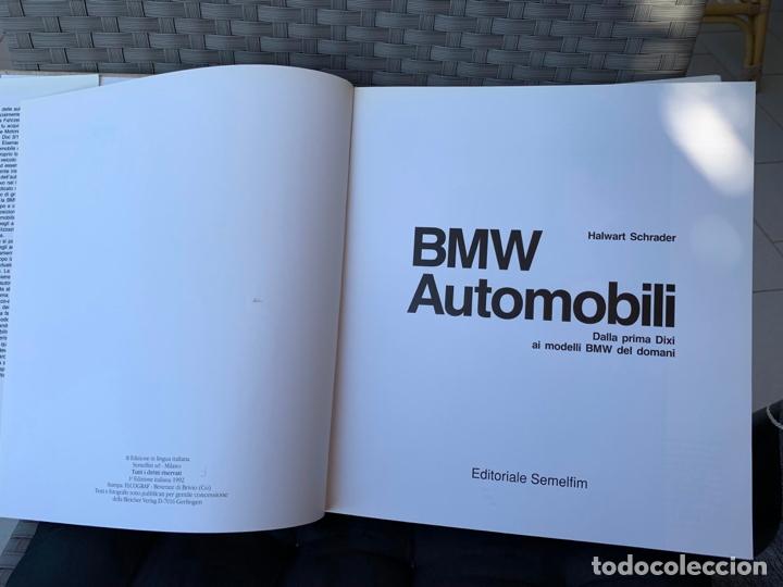 Coches y Motocicletas: BMW AUTOMOBILI LIBRO HALWART SCHRADER EDIZIONE ITALIANA 1992 - Foto 2 - 170351588
