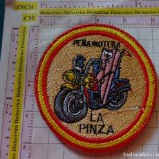 Coches y Motocicletas: PARCHE DE MOTOCICLISMO. MOTOS. PEÑA MOTERA LA PINZA, MURCIA. Lote 170433872